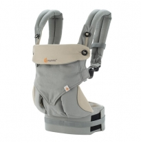 ergobaby - 360 four position baby carrier, grey