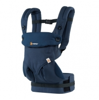 ergobaby - 360 four position baby carrier, midnight blue