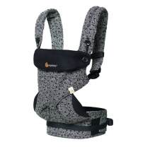 ergobaby - 360 four position baby carrier, keith haring black