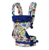 ergobaby - 360 four position baby carrier, keith haring pop