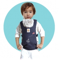 ergobaby - doll carrier, sailor