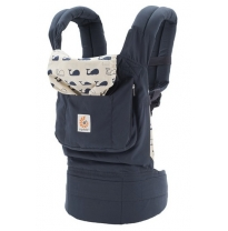 ergobaby - baby carrier, marine whales