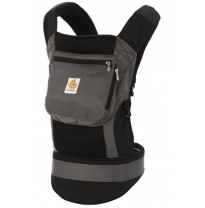 ergobaby - performance baby carrier, charcoal