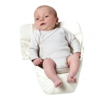 ergobaby - easy snug infant insert, natural