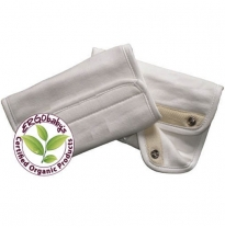 ergobaby - teething pads, organic 2pack