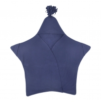 ETERNAL CREATION - star baby blanket, navy