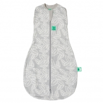ergoPouch - 0.2 tog bamboo cocoon, swaddle & sleep bag, rainforest leaves