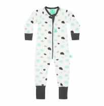 ergoPouch - 1 tog layers long sleeve sleep wear, clouds