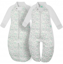 ergoPouch - 2.5 tog sleep suit bag, grey mountains