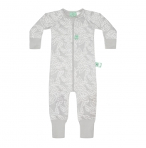 ergoPouch - 2.5 tog winter onesie, rainforest leaves
