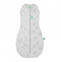 ergoPouch - 2.5 tog cocoon, swaddle & sleep bag, rainforest leaves