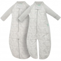 ergoPouch - 2.5 tog sleep suit bag, rainforest leaves