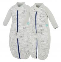 ergoPouch - 2.5 tog cotton sleepsuit bag, blue dot