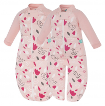ergoPouch - 2.5 tog cotton sleepsuit bag, tulip