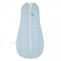 ergoPouch - ergoCocoon 2in1 swaddle & sleeping bag, tribal blue