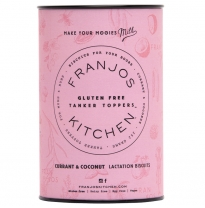 FRANJOS KITCHEN - gluten free lactation biscuits, currant & coconut 252g