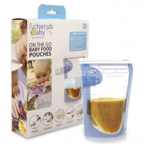 cherub baby - food storage pouches, 20pack