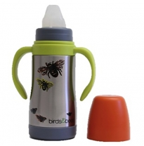 EARTHLUST - birds & bees baby bottle
