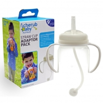 cherub baby - wide neck straw cup adaptor pack