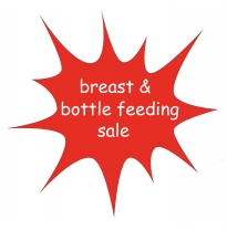 breast & bottle feeding sale
