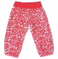 Eternal Creation - soft cord pants, daisy fields