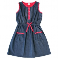 ETERNAL CREATION - parisian pinafore, polka dot