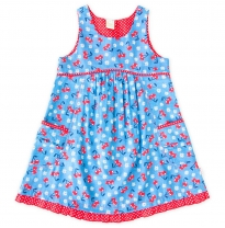 ETERNAL CREATION - cotton play dress, cherries