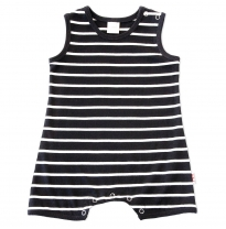 ETERNAL CREATION - romper, black stripe
