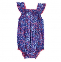 ETERNAL CREATION - shirred romper, amelie