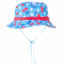 ETERNAL CREATION - cotton sunhat, cherries