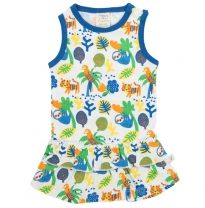 Tiny twig - singlet dress, rainforest