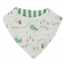 Tiny twig - bandana bib, woodland dream