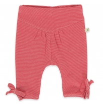 Tiny twig - jasmine pant, raspberry stripes
