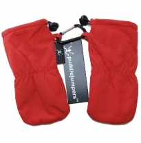 puddle jumpers - baby & toddler mitts, red