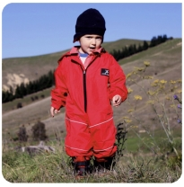 puddle jumpers - extreme splashsuit, thermo red