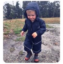 puddle jumpers - extreme splashsuit, dryshell navy