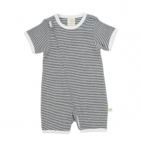 Tiny twig - short sleeve romper, stripes