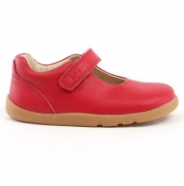 bobux - i-walk delight mary jane, red