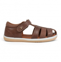 BOBUX - kid+ roam sandal, brown