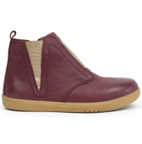 BOBUX - kid+ signet boot, plum