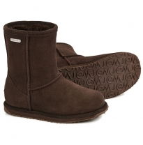 EMU Australia - waterproof brumby lo boot, chocolate