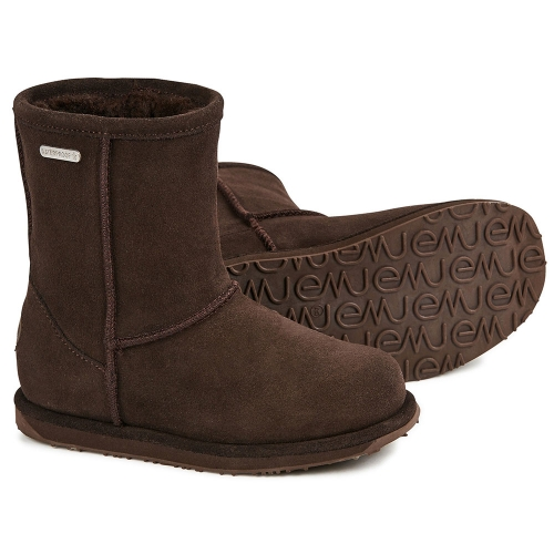 EMU Australia waterproof brumby lo boot chocolate