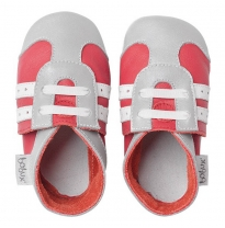 BOBUX - soft sole sport, red/silver