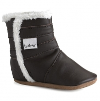 BOBUX - soft sole winter boot, chocolate