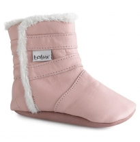 BOBUX - soft sole winter boot, pale pink