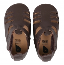 BOBUX - soft sole sandal, chocolate