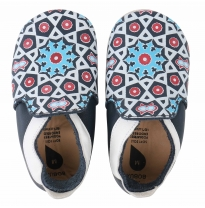 BOBUX - soft sole moroccan tile, navy