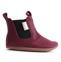 BOBUX - soft sole jodhpur boot, plum