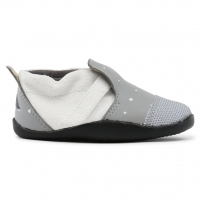bobux - step-up xplorer city, grey with white plus