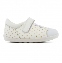 BOBUX - step-up scribble sneakers, gold spots